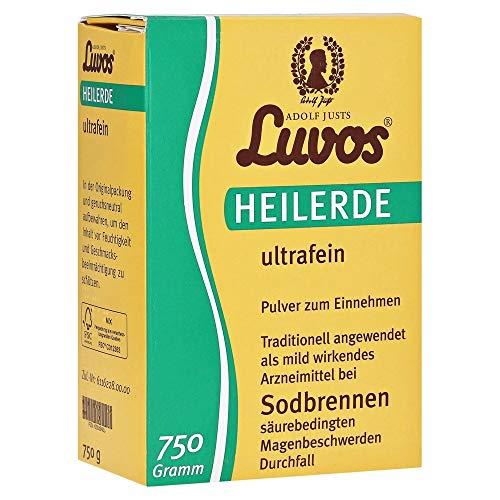 Luvos-heilerde ultrafein Pulver Spar-Set 2x750g. Wirkt gegen Sodbrennen, säurebedingte Magenbeschwerden und Durchfall