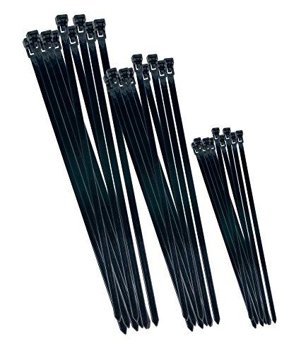 CON:P B20451 Mehrweg-Kabelbinderset, 75 Stück