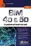 BIM 4D & 5D. La gestione dei tempi e dei costi
