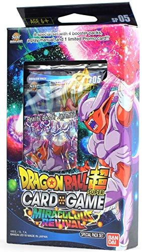 Bandai BCLDBSP1176 Dragon Ball Super Juego de Cartas: Pack Especial Set - Miraculous Revival