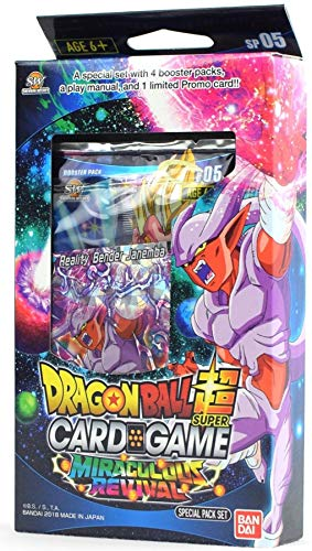 Bandai BCLDBSP1176 Dragon Ball Super Kartenspiel: Special Pack Set - Wundervolle Revival