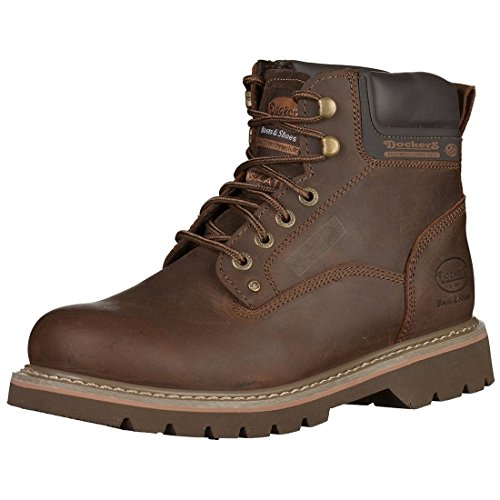 Dockers by Gerli Herren 23DA004 Combat Boots, Braun (Cafe 320), 40 EU