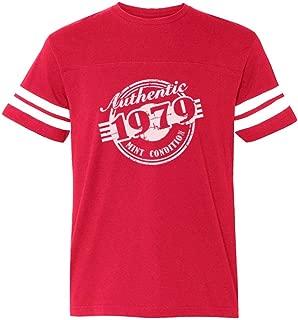 Tstars - 40th Birthday Gift 1979 Mint Condition Football Jersey T-Shirt