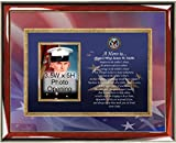 Military Photo Frame Personalized Veteran Poetry Photo Plaque Service Award Retirement Soldier Sailor Airman Military Gifts Army Navy Air Force Marine Corps Going Away USMC USAF USCG