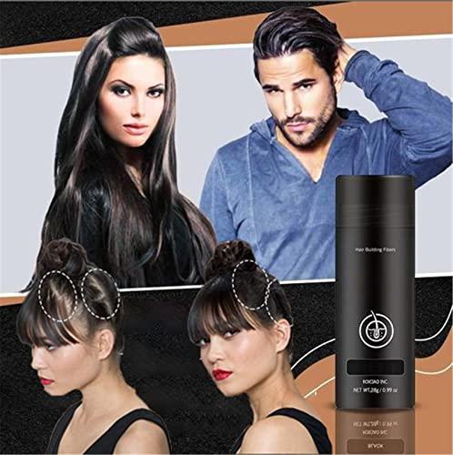 3d Hair Building Fiber Powder, Boost + Polvo De Fibra Capilar, Fluff Up Secret Hair Fibers Polvo Para Cualquier Color De Cabello, Espesante Y Fibras Capilares (Marrón claro)