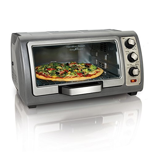 Hamilton Beach (31126) Toaster Oven, Convection Oven, Easy Reach,Silver