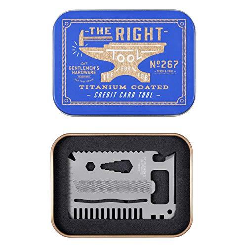 Gentlemen's Hardware GEN267 Kreditkartenwerkzeug