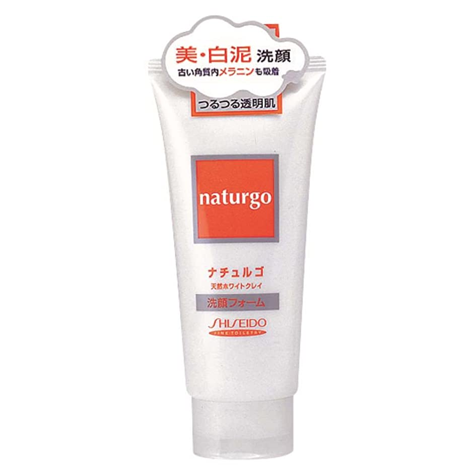 納得させる特派員感覚ナチュルゴ 洗顔フォーム ホワイトクレイ 120g