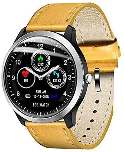 JSL Los nuevos hombres N58 s reloj inteligente PCG ECG I IP67 impermeable monitor de frecuencia cardíaca pulsera de presión arterial puede reemplazar avanzado Smartwatch-C-B