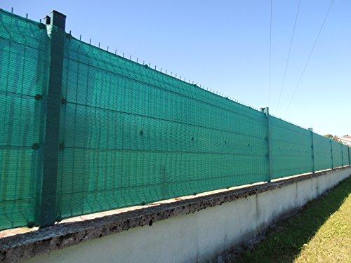 Fixation brise vue GRIPNET traités anti-UV pour panneaux grillagés (diamètre tige 5mm) X30 (vert)