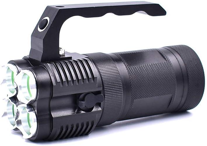 Kw-tool Lumière portative de Lampe de Perle de 4 Lampes, projecteur extérieur Rechargeable, approprié au Camping extérieur, Aventure, Faisant du vélo (1000Lm, 10000Mah, 30W),Australianregular