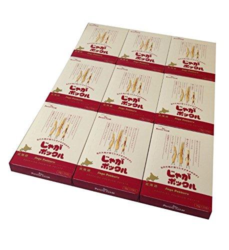 【北海道限定】じゃがポックル(薯條三兄弟) 大 10袋入り / お土産袋付き / 複数注文可能 /ポテトファーム (9個)