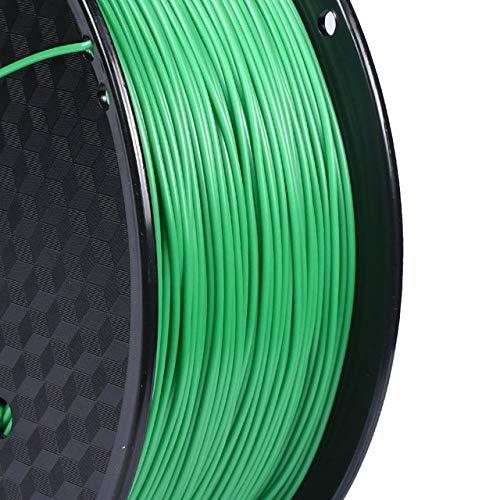 DZWLYX Stampante 3D filamento PLA 1,75 Millimetri 1KG plastica filamento Materiale RepRap Createbot/MakerBot for Parti della Stampante 3D / Penna 3D (Color : Green)