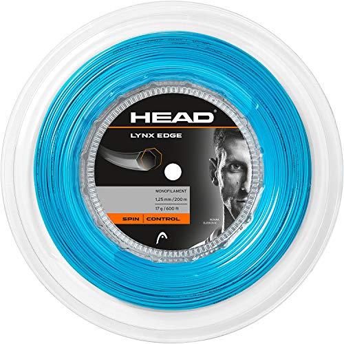 Head Lynx Edge Cordaje de Tenis, Unisex Adulto, Negro, 17