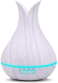 加湿器、アロマテラピーエッセンシャルオイルディフューザー互換アロマテラピーマシンカラフルなled加湿器 (色 : C)