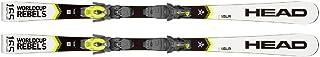 HEAD Mäns sport skidor WC Rebels i .SLR AB vit PR 11 GW bindning i ett set