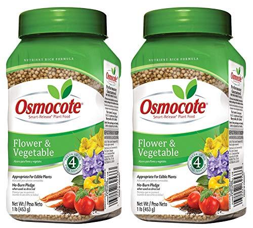 Osmocote 277160 Flower and Vegetable Smart-Release Plant Food,...