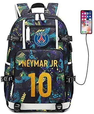 Chop your ya Francia Copa Mundial de la bolsa de hombro escuadra de gran capacidad Bolso Bolsa de carga USB estudiantes bolsa de viaje Camping, escuela, viajes, Senderismo Mochila for portátil (color: