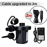 Xgigcam Portable Electric Air Pump with 3 Nozzles