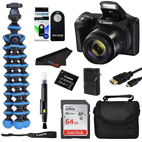 Great Features Of Canon PowerShot SX420 Digital Camera w/42x Optical Zoom - Wi-Fi & NFC Enabled (Bla...