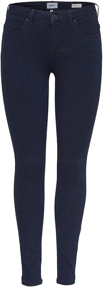 Only, jeans skinny per donna,53% viscosa, 29% cotone, 17% poliestere, 1% elastan 15159415