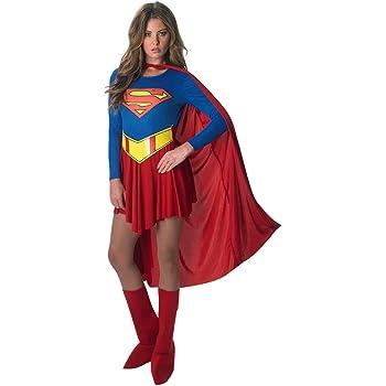 Ciao- Supergirl Costume Donna Originale DC Comics (Taglia S ...