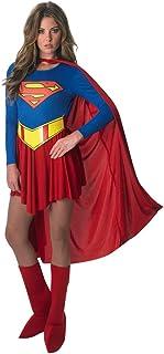 Rubie`S DC Comics Deluxe Supergirl Costume, Red/Blue, Medium
