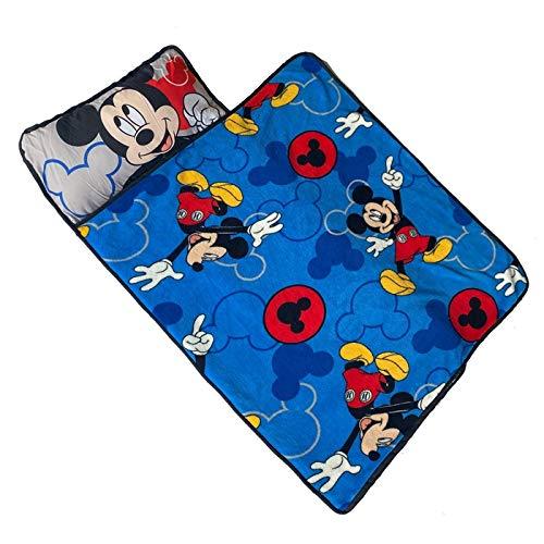 Manta de siesta portátil enrollada con manta y almohada para bebés y niñas de viaje manta