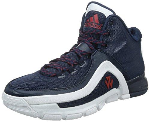 adidas Performance J Wall 2 Schuhe Herren Basketball-Schuhe Sportschuhe Blau S85576, Größenauswahl:49 1/3