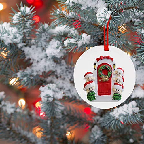Shirt Luv 2020 Christmas Ornaments Hanging Decoration Gift Product Personalized Family Fall Decor for Home Farmhouse Ornaments
