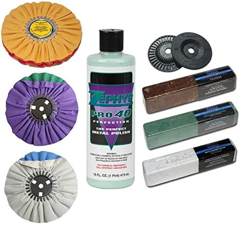 Zephyr Genuine Free Shipping Super Shine Kit X Genuine Polishing