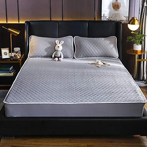 haiba Sábana bajera para cama infantil, 150 x 200 cm + 30 cm