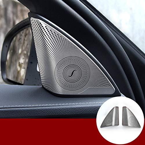 HOTRIMWORLD Für C-Klasse W205 S205 Innenraum Autotür Audio Lautsprecher Rahmen Verkleidung Abdeckung 2 Stück 2014–2019