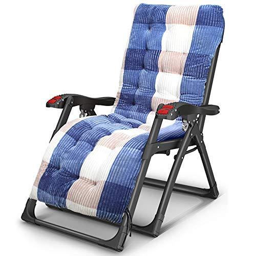 Axdwfd Chaise longue Chaise longue de jardin inclinable chaise longue paresseux noir de plage Sun Lounger imperméable, trois styles en option (Couleur : C)