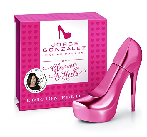 JORGE GONZÁLEZ by GLAMOUR & HEELS – EDICIÓN FELICIDAD, Eau de Parfum, Damenduft, Duft für Frauen,-