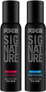 AXE Signature Body Perfume, Intense, 154ml And AXE Signature Body Perfume, Mysterious, 154ml