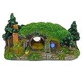 Ulifery Aquarium Decoration Hobbit House Small Cave for Betta Hiding Reptile Hole House Shelter Fish...