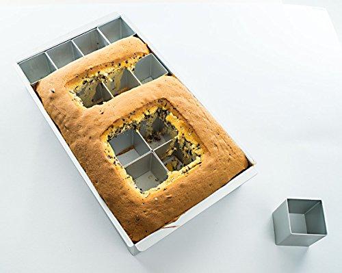 DIY Große Zahlen Buchstaben Backform aus Aluminium