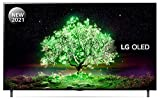 Image of LG OLED55A16LA 55 inch 4K UHD HDR Smart OLED TV (2021 Model) with α7 Gen4 AI processor, 4K SELF-LIT OLED, Dolby Vision IQ and Dolby Atmos, built-in Google Assistant and Alexa
