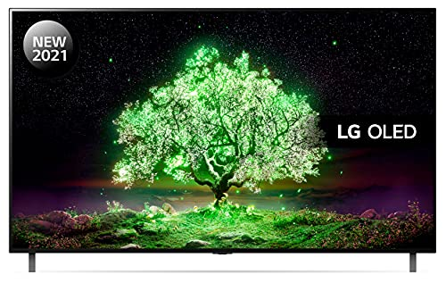 LG OLED48A16LA 48 inch 4K UHD HDR Smart OLED TV (2021 Model) with ?7 Gen4 AI processor, 4K SELF-LIT OLED, Dolby Vision IQ and Dolby Atmos, built-in Google Assistant and Alexa