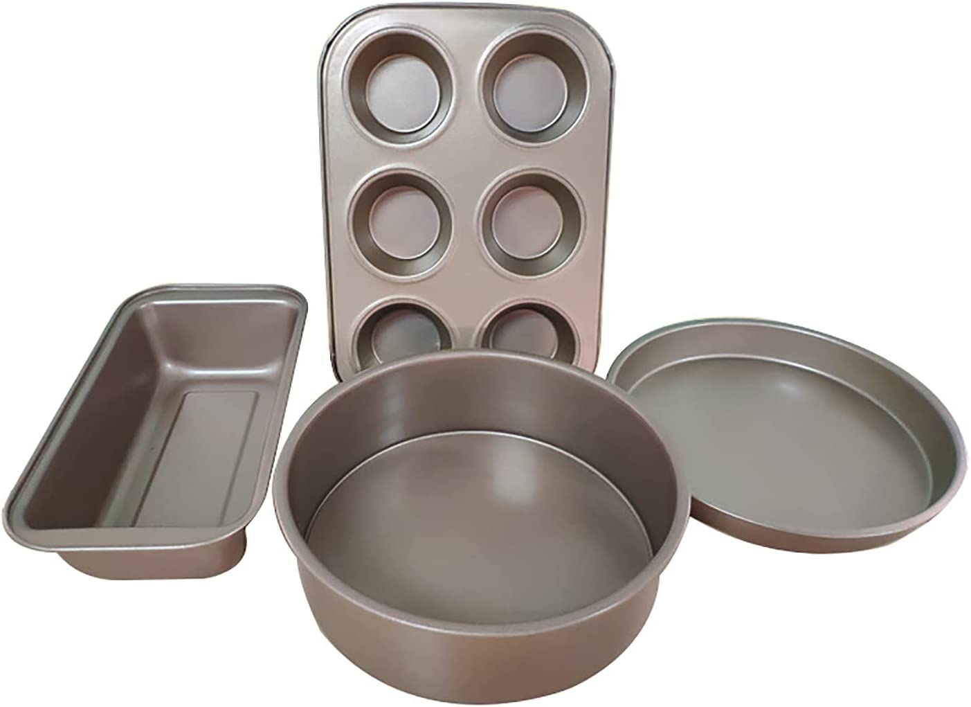 BVDOYFYJ Nonstick Bakeware Set Max 54% New Shipping Free Shipping OFF Steel B Carbon