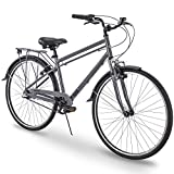 700c Royce Union RMX Mens 3-Speed Commuter Bike, 21' Aluminum Frame, Cool Gray