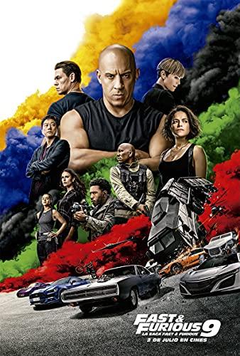 Fast & Furious 9 (4K UHD + BD) (ED ESPECIAL METAL) [Blu-ray]