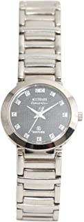 Casual Watch for Women by Accurate, Silver, Round, ALQ715