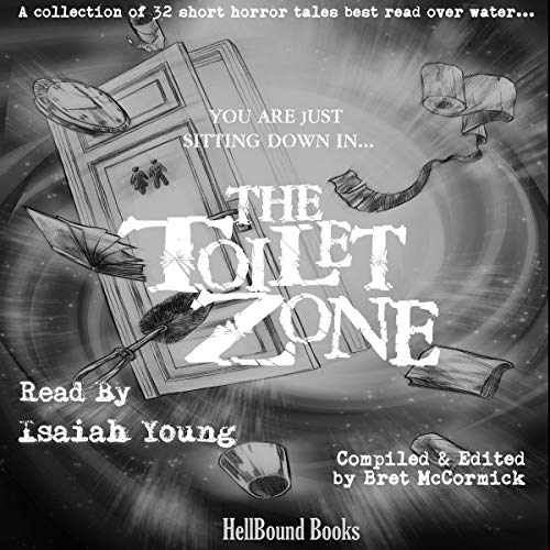 The Toilet Zone audiobook cover art