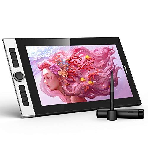 XP-PEN Innovator 16 Grafiktablett 15.6-Zoll 1920x1080 FHD IPS Pen Display zum Zeichnen mit 92% Adobe RGB Farbumfang für Windows, Mac