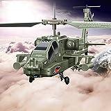 Lotees Camiones todoterreno RC RC del helicóptero 3.0CH Autodefensa Terrestre Fuerza de Observación for principiantes eléctrica caída resistente avión teledirigido Juguetes for al aire libre for adult