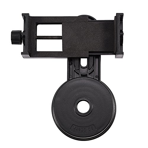 Cellphone Telescope Adapter Mount,Universal Cell Phone Adapter Holder Mount Microscope Telescope Interface Bracket for Hunting Bird Watching