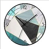 Orologio da parete silenzioso di lusso al quarzo orologio soggiorno casa parete Clock-H_12IN
