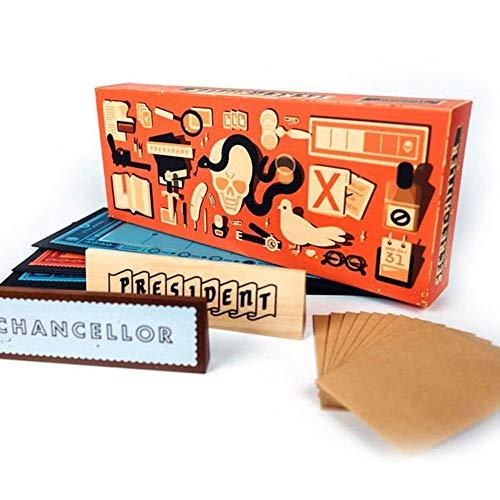 Molog Secret Hitler Spiel Card Games Geheimer Hitler Brettspiel Deckkartenspiele (Upgraded)